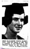 Elizabeth Nesta Marks