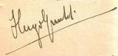Hugo Gunckel Lüer signature