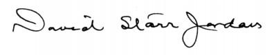 David Starr signature