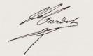 Jules Cardot signature
