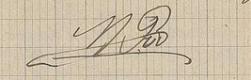Maurice Pic signature